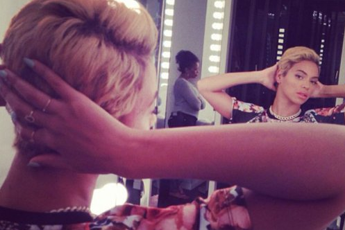 Beyonce's New Haircut!
